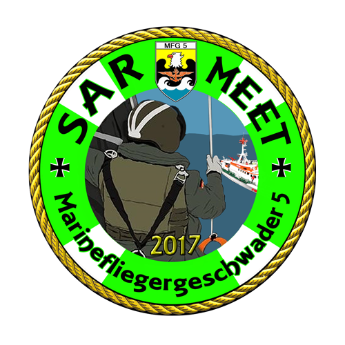 Logo der SAR Meet 2017 in Nordholz